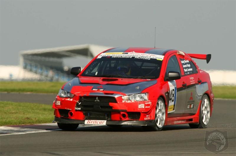 Mitsubishi Lancer Evolution X Race Car Debut - AutoSpies Auto News